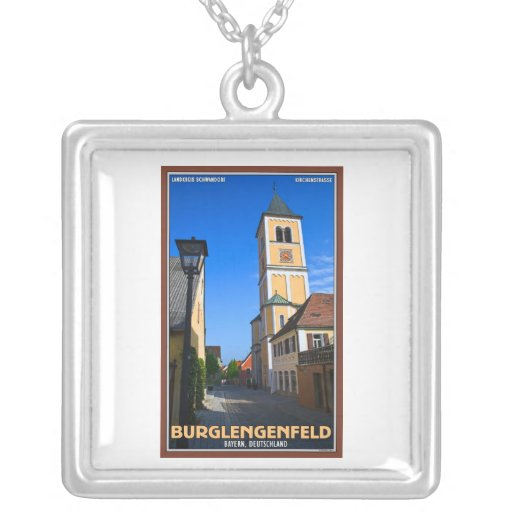 Burglengenfeld - Kirchengasse Personalized Necklace