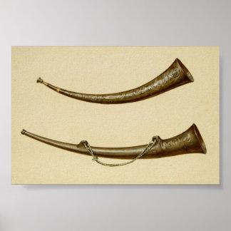 Burgmote Horns Poster