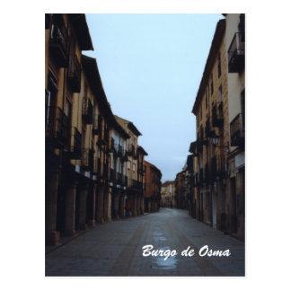 Burgo de Osma Postcard