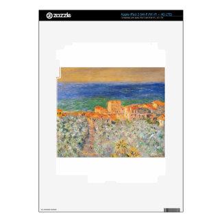 Burgo Marina at Bordighera by Claude Monet Skins For iPad 3