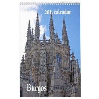 Burgos Calendar 2011