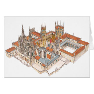 Burgos Cathedral. Spain Card