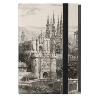 Burgos Cathedral Spain Castle Gothic Spire Vintage iPad Mini Covers