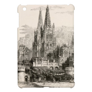 Burgos Cathedral Spain Castle Gothic Spire Vintage iPad Mini Cover