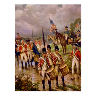 Burgoyne's Surrender at Saratoga by Percy Moran Postcard
