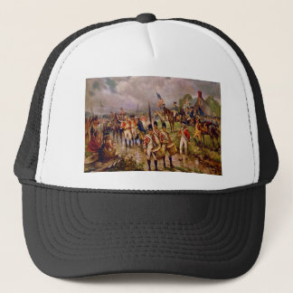 Burgoyne's Surrender at Saratoga by Percy Moran Trucker Hat