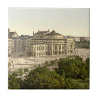 Burgtheater, Viena, Austria Azulejo Cuadrado Pequeño