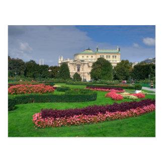 Burgtheater, Viena Austria Tarjetas Postales