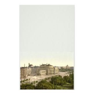 Burgtheater, Vienna, Austria Stationery