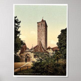 Burgthor (i.e. Burgtor), Rothenburg (i.e. ob der T Posters
