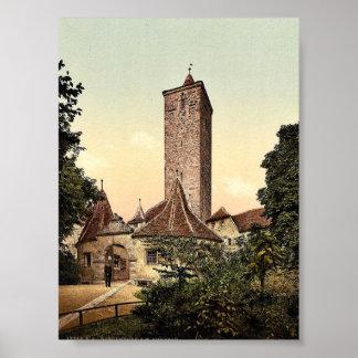 Burgthor (i.e. Burgtor), Rothenburg (i.e. ob der T Poster