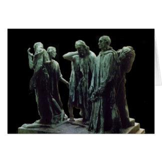 Burgués de Calais - Rodin de Les Felicitacion