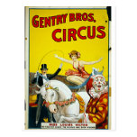 Burguesía alta Bros. Circo Tarjetas Postales