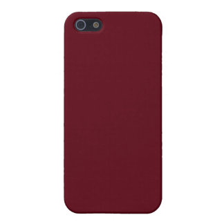 Burgundy 4  iPhone 5/5S cover