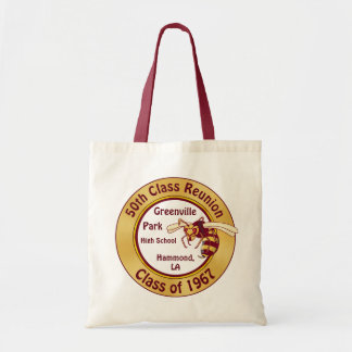 Burgundy and Gold Class Reunion Gift Ideas, Totes