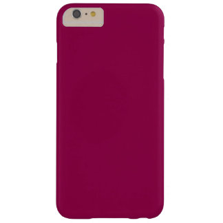 Burgundy Barely There iPhone 6 Plus Case