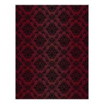 burgundy, baroque, black, lace, pattern, paper, fantasy, Papel de cartas com design gráfico personalizado