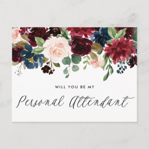 Attendant Proposal Gifts on Zazzle