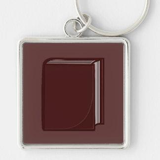 Burgundy Book - RoseBkg Keychain