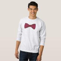Burgundy Bow Tie Bowtie Wedding Prom Sweatshirt
