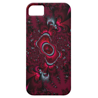burgundy butterfly iPhone SE/5/5s case