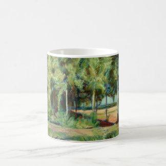 Burgundy Canalbank Coffee Mug