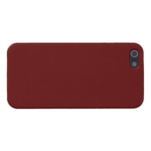 Burgundy Case For iPhone 5