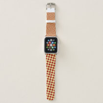 Burgundy Clover Ribbon by Kenneth Yoncich Apple Watch Band