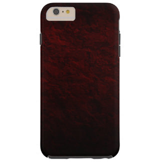 Burgundy Concrete Creation Tough iPhone 6 Plus Case