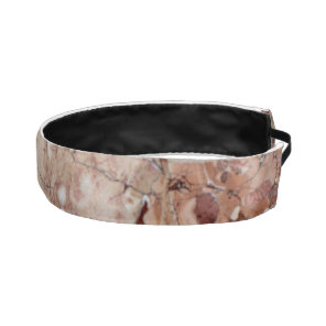 Burgundy Crimson Stoney Pebble Marble finish Athletic Headband