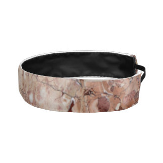 Burgundy Crimson Stoney Pebble Marble finish Athletic Headband