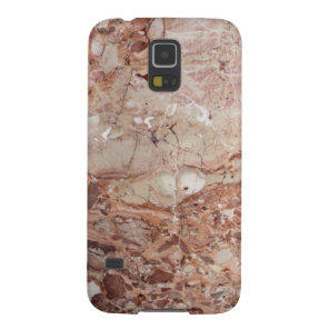 Burgundy Crimson Stoney Pebble Marble finish Galaxy S5 Case