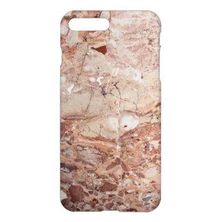 Burgundy Crimson Stoney Pebble Marble finish iPhone 8 Plus/7 Plus Case