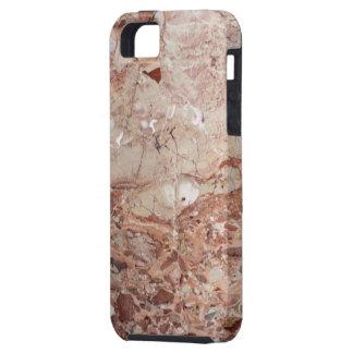 Burgundy Crimson Stoney Pebble Marble finish iPhone SE/5/5s Case
