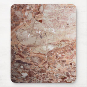 Burgundy Crimson Stoney Pebble Marble finish Mouse Pad