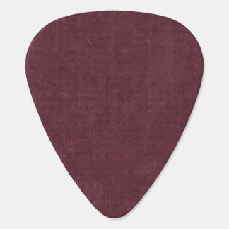 Burgundy Design Guitar Pick