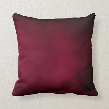 SterlingClouds Burgundy Fade pillow