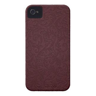 Burgundy Filigree Blackberry Bold Case