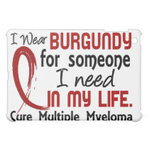 Burgundy For Someone I Need Multiple Myeloma Case For The iPad Mini
