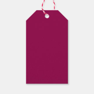 Burgundy Pack Of Gift Tags