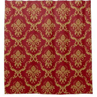 burgundy and gold shower curtain. Burgundy  amp Gold Floral Geometric Damasks Shower Curtain Curtains Zazzle