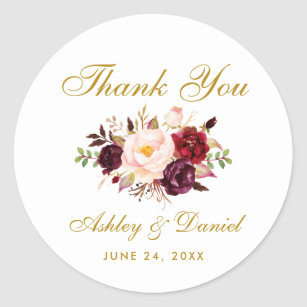 bohemian wedding stickers labels zazzle