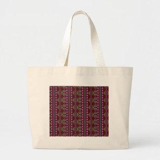 Burgundy Large Tote Bag