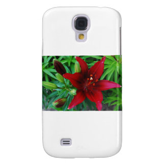 Burgundy Lily Samsung Galaxy S4 Cover
