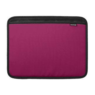 Burgundy MacBook Air Sleeves