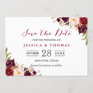 wedding save the date cards zazzle