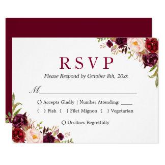 Floral Wedding Invitations Announcements Zazzle