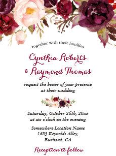 fall wedding invitations zazzle