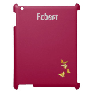 Burgundy Red Savvy Matte or GlossyFinish iPad Case