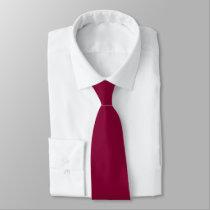 Burgundy Red Wine Neck Tie